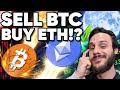 Guess What!? I'm Dumping My BITCOIN For Ethereum!!