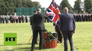 Veterans commemorate 50 years since launch of Operation Banner