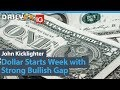 Dollar Starts Week with Strong Bullish Gap but Limited Hope for Trend Now (Trading Video)