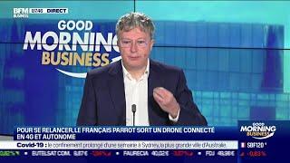 PARROT Henri Seydoux (Parrot) : Parrot sort un drone connecté en 4G et autonome