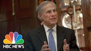 ABBOTT LABORATORIES Texas Governor Greg Abbott Tests Positive For Covid
