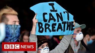 George Floyd death homicide, official post-mortem declares - BBC News
