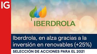 IBERDROLA Acciones con mayor potencial para el 2021 | Iberdrola destaca por su inversión en renovables