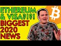 BREAKING! VISA PARTNERS WITH ETHEREUM USDC! BITCOIN SUPPLY CRISIS HEATS UP! [Crazy Crypto News]