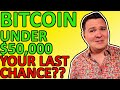 URGENT! LAST CHANCE TO BUY BITCOIN UNDER $50,000??? CRITICAL BITCOIN ANALYSIS TODAY
