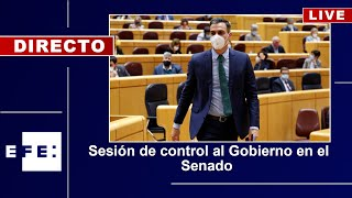 🔴📡 Sesión de Control al Gobierno en el  Senado