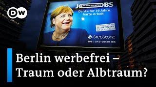 Eine Stadt ohne Werbung: Sollte Berlin werbefrei werden? | DW Nachrichten