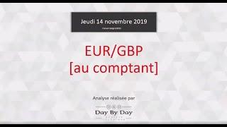 EUR/GBP EUR/GBP (au comptant) : Idée de trading  IG 14.112019