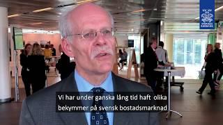 Intervju med Stefan Ingves om bostadsmarknadens utmaningar