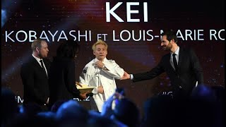 MICHELIN Kei Kobayashi, premier Japonais à recevoir trois étoiles Michelin en France