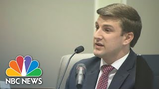 North Carolina House Candidate's Son Gives Surprise Testimony | NBC News