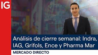 ENCE Análisis semanal de Grifols, Indra, IAG, Ence y Pharma Mar