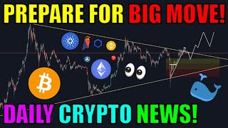 BITCOIN HUGE MOVE COMING For Bitcoin! Chainlink Ethereum Cardano News & More [Cryptocurrency News Online]