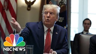 Trump Confirms He Received Partial Physical At Walter Reed Visit | NBC News