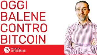 BITCOIN Bitcoin: i grandi investitori stanno cercando di far scendere il prezzo
