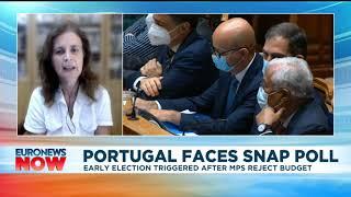 ESPIRITO SANTO FINCL GRP Portugal faces snap poll, interview with Paula do Espírito Santo | Euronews