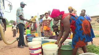 Côte d'Ivoire : l'eau coule à nouveau des robinets à Bouaké