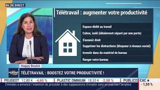 Happy Boulot : Boostez votre productivité en télétravail!