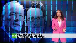 AMAZON.COM INC. Un ancien directeur de la NSA débarque chez Amazon