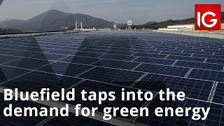 BLUEFIELD SOLAR INCOME FUND LTD. NPV Bluefield Solar Income Fund taps into the demand for green energy