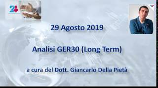 DAX30 PERF INDEX Analisi GER30 del 29.08.2019