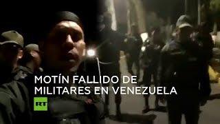 Detienen en Venezuela a un grupo de militares sublevados