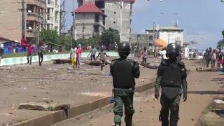 Présidentielle en Guinée : après les violences, l'armée réquisitionnée