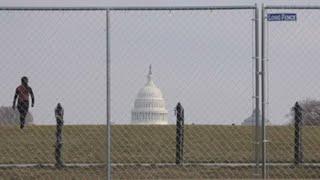 Blindada, Washington se prepara para la llegada de Biden a la Casa Blanca