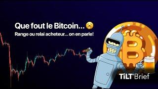 BITCOIN [ANALYSE CRYPTO] Bitcoin Dans Une Compression Infinie  |  BTC - BTC.D - ALTS - DOGE