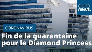 Covid-19 : fin de la quarantaine pour les passagers du Diamond Princess au Japon