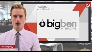 BIGBEN INTERACTIVE Bourse - BIGBEN INTERACTIVE,  un intermédiaire en soutien- IG 23.10.2019
