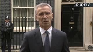 LIVE: Boris Johnson and NATO's Jens Stoltenberg hold joint presser at Downing Street