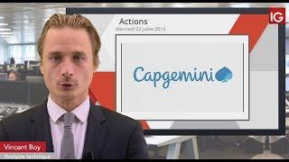 CAPGEMINI Bourse - CAPGEMINI, en baisse suite à un intermédiaire - IG 03.07.2019