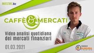 GOLD - USD Caffè&Mercati - Abbiamo chiuso le posizioni su GOLD ed EUR/USD