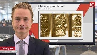 GOLD - USD Bourse   GOLD, accélération attendue  IG 18 06 2019
