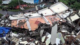 Indonésie : les sauveteurs cherchent des survivants du séisme de Célèbes