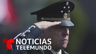 Gobierno mexicano apoya exoneración del general Cienfuegos | Noticias Telemundo