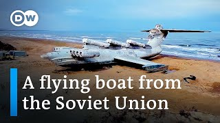 The ekranoplan flying boat: Russia's 'Caspian Sea Monster' | Focus on Europe