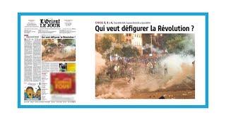 """""""Qui veut défigurer la révolution libanaise?"""""""