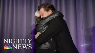 11-Year-Old Meets The Man Who Gave Her A Life-Saving Gift | NBC Nightly News