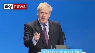 BREAKING NEWS: Boris Johnson's first speech as new Tory leader