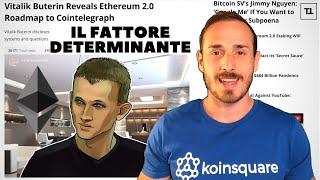 ETHEREUM Il Bull Market partirà con Ethereum 2.0
