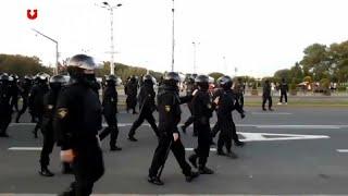 Nach Amtseinführung: Wieder Protest gegen Lukaschenko