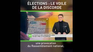 La photo d'une candidate LREM voilée crée la polémique