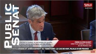 AIR FRANCE -KLM Audition de Pierre-Olivier Bandet, Directeur général-adjoint de Air France HOP puis audition de La