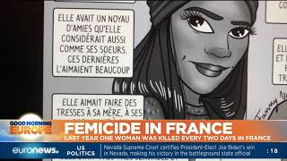 Femicide in France: Last year one woman was killed every two days in France