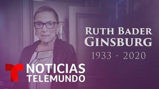 Quién era Ruth Bader Ginsburg, icónica jueza liberal de la Corte Suprema, fallecida a los 87 años