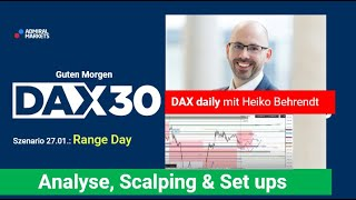 AMP LIMITED DAX aktuell: Analyse, Trading-Ideen & Scalping | DAX30 | CFD Trading | DAX Analyse | 27.01.2021