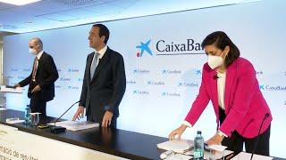 CAIXABANK CaixaBank ganó 514 millones hasta marzo, sin los impactos de la fusión