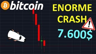 BITCOIN BITCOIN LE CRASH CASSE TOUS LES SUPPORTS !? btc analyse technique crypto monnaie